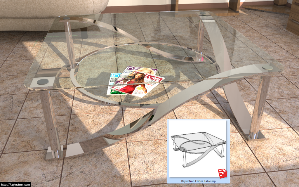 FREE Sketchup components by the Raylectron team… – Raylectron